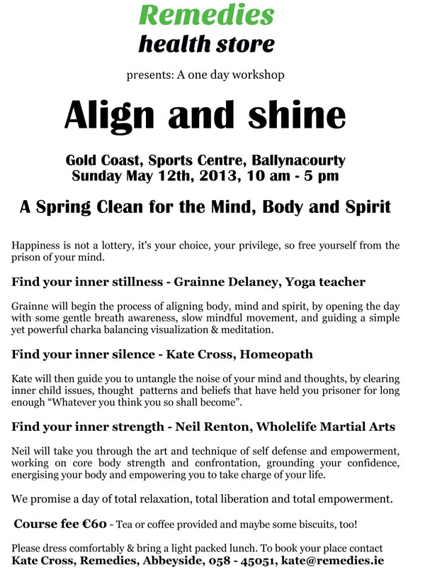 align and shine