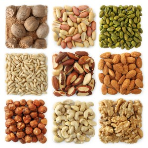nuts are a rich source of Q10