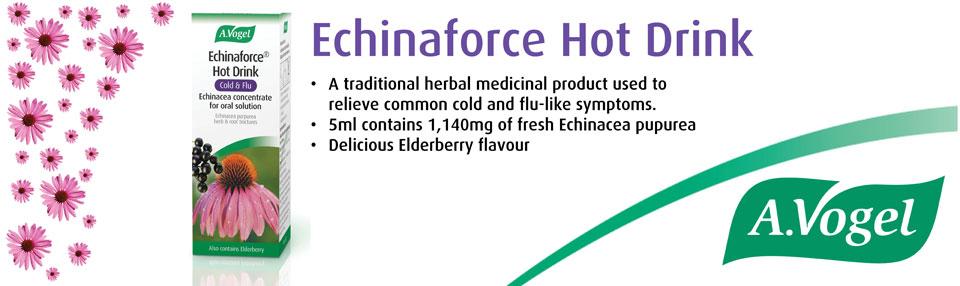 echinacea flu drink