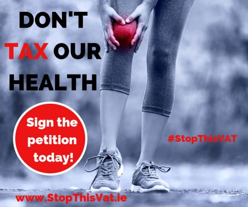 Don't tax health supplements in Ireland